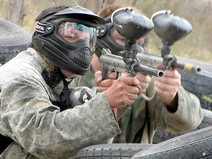 Echuca Paintball Team Building